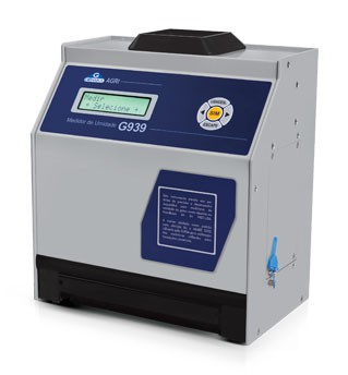 Medidor de umidade de grãos de bancada
