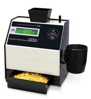 Medidor de umidade de grãos portátil